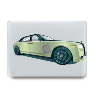 Macbook Air 13' Case (2018) Green Rolls-Royce