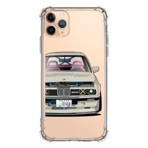iPhone 11 Pro Max Clear Bumper Case - ㄇㄉㄈㄎ 1985 E30