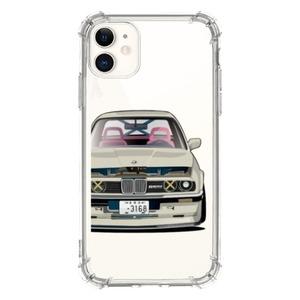 iPhone 11 Clear Bumper Case ㄇㄉㄈㄎ 1985 E30
