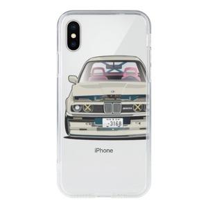 iPhone X Clear Case - ㄇㄉㄈㄎ 1985 E30