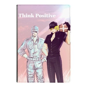 Think Positive - A5 Notebook