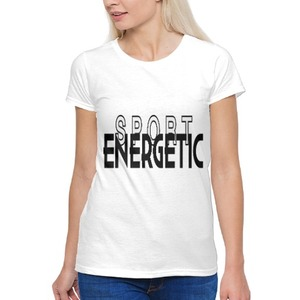 Sport/Energetic 女裝棉質圓領T恤