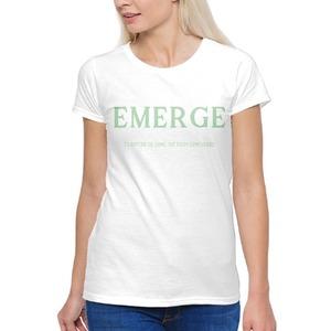 Neo-Mint EMERGE Women's Basic T-Shirt