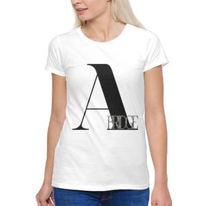 ABRIDGE Rhinestone 女裝棉質圓領T恤