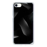 9son iPhone SE 透明防撞殼(2020 亞加力硬款)- 潮流黑