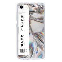 9son iPhone SE 透明防撞殼(2020 亞加力硬款)- 未來銀