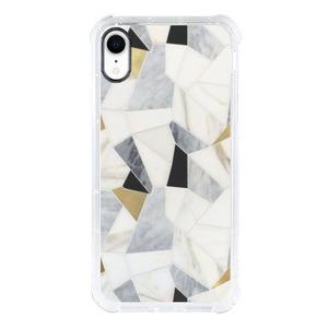 9son iPhone Xr 透明防撞殼(優雅白)