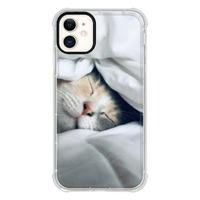 9son iPhone 11 透明防撞殼(可愛貓咪)
