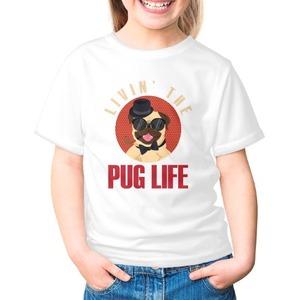 Girls' Basic T-Shirt 女童棉質圓領T恤