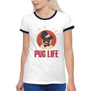 Women''s Basic Ringer T-Shirt