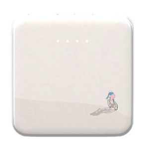 Cycling in peace 8000mAh Square Power Bank