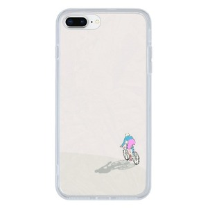 Cycling in peace iPhone 8 Plus Clear Case
