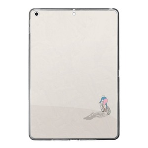 Cycling in Peace iPad 10.2 Clear Case