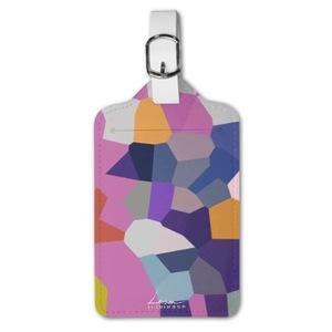 彩繪玻璃前 Luggage Tag