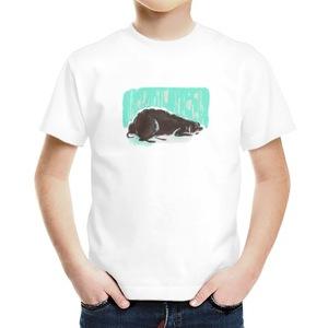 小黑狗狗男童裝 Boys' Basic T-Shirt