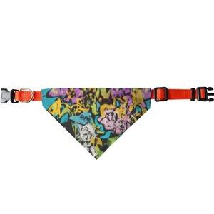 遍地開花 Bandana (Large) 三角寵物頭圍巾