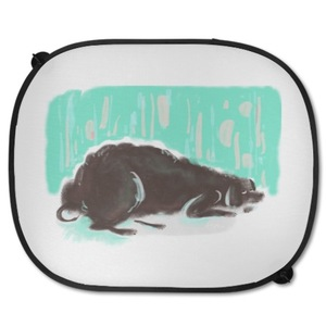 小黑狗 車用遮陽板 Car Visor