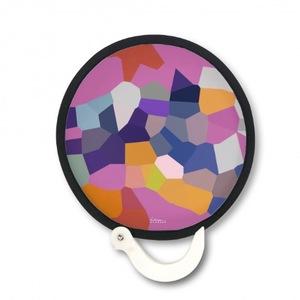 紐約派實驗曲 Foldable Round Fan 折疊扇