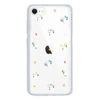 iPhone SE Clear Bumper Case(2020 Acrylic hard case) 摳摳日常