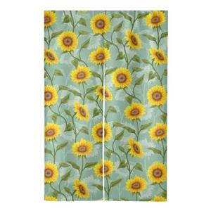 "Sunflowers. Door Curtain 47"" x 31"""