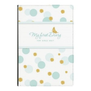 A5 Notebook    My first dairy for girls only