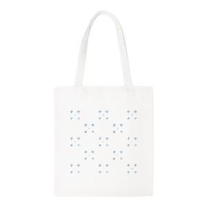 見字飲水 Canvas Shoulder Tote Bag