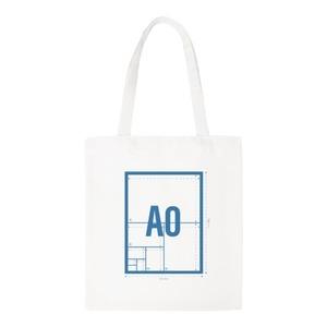 A0 Canvas Shoulder Tote Bag