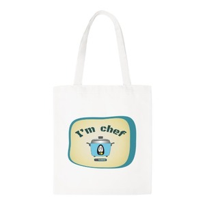Canvas Shoulder Tote Bag 大同電鍋 I'm Chef
