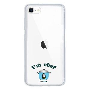 可愛大同電鍋 I'm Chef~iPhone SE Clear Case(2020 TPU soft case)