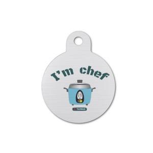 Round Pet Tag ~可愛大同電鍋 I'm Chef