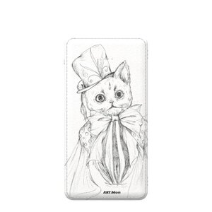3 in 1 5000mAh Imitation Leather Power Bank  貓 cat