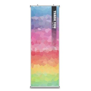 "Thank You Color my Life。Fabric Wall Scroll Poster 18"" X 59"""