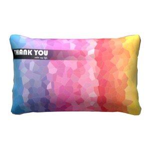 Thank You Color my Life。Pillowcase
