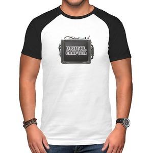 Digital Crafter-The TV Raglan T-Shirt