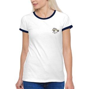 '98 SUZUKI JIMNY(Women''s Basic Ringer T-Shirt)