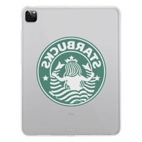 star bucks iPad Pro 12.9吋(2020)透明保護套
