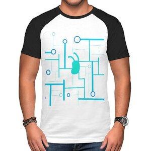 future( •̀ ω •́ )✧男裝棉質插肩圓領T恤