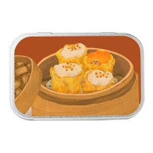 得閒飲茶 ♥ 易揭式馬口鐵盒(中)