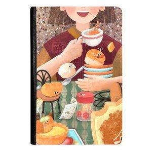 茶餐廳奇遇 ♥ 皮紋證件套