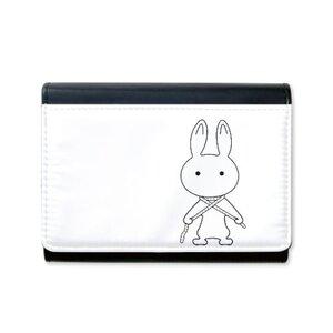 忧郁小兔钱包(含零钱包)