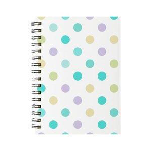 彩色點點 線圈筆記本(小)