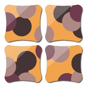 多邊形水松木杯墊 (4件裝)