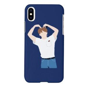 BTS jungkookiPhone Xs Max 啞面硬身殼
