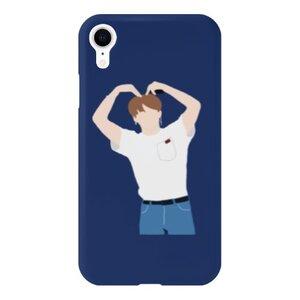 BTS jungkookiPhone Xr 光面硬身殼