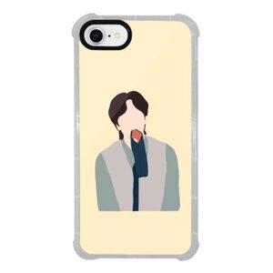李光洙iPhone 8 透明防撞殼(黑邊鏡頭)