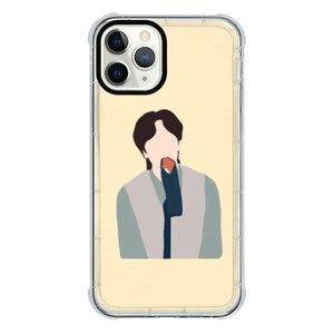 李光洙iPhone 11 Pro 透明防撞殼(黑邊鏡頭)