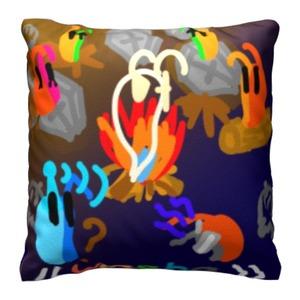 YOSHA_halloween16x16吋麻布抱枕
