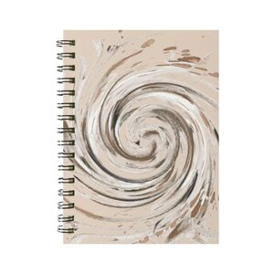 抽象3 線圈筆記本(小)