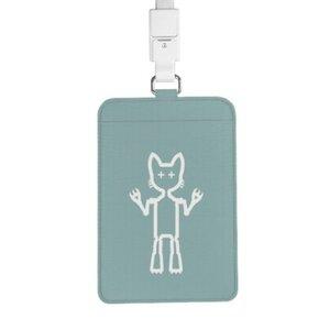 Cool Cat Warrior 證件套連頸繩
