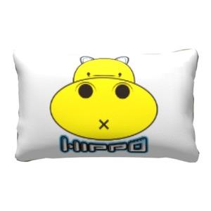 胖小河HIPPO!枕頭套